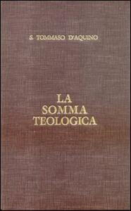 La somma teologica. Testo latino e italiano. Vol. 3: La Santissima Trinità.