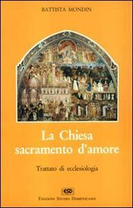 La chiesa sacramento d'amore