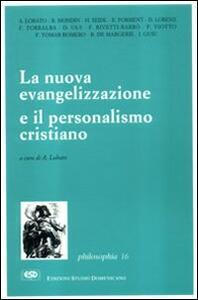 La nuova evangelizzazione e il personalismo cristiano