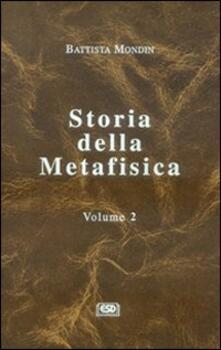 Lpgcsostenible.es Storia della metafisica. Vol. 2 Image