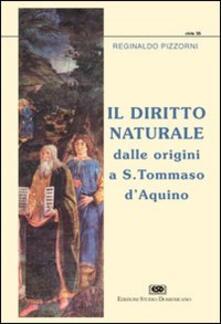 Cocktaillab.it Il diritto naturale dalle origini a s. Tommaso d'Aquino Image