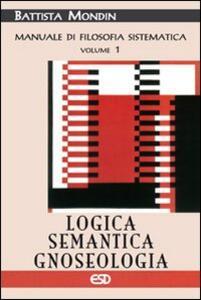 Logica, semantica e gnoseologia