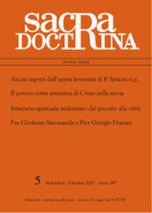 Sacra doctrina (2003). Vol. 48