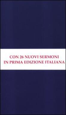 Sermoni su temi di attualità. Sermoni all'Università di Oxford - John Henry Newman - copertina
