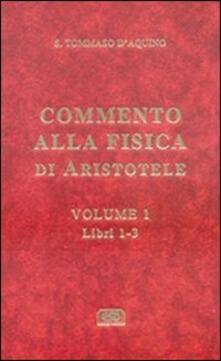 Librisulrazzismo.it Commento alla Fisica di Aristotele. Vol. 1: Libri 1-3. Image