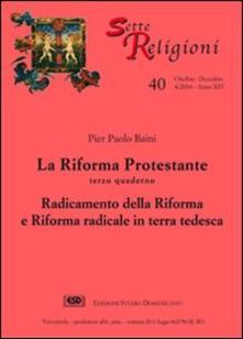 La riforma protestante. Vol. 4: Zwingli e Calvino nel contesto elvetico. - Sergio Ronchi - copertina