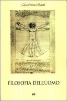 Filosofia dell'uomo - Gianfranco Basti - copertina