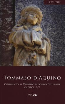 Camfeed.it Commento al Vangelo secondo san Giovanni. Capitoli 1-9 Image