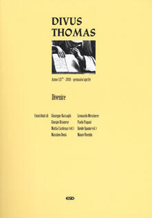 Filippodegasperi.it Divus Thomas (2018). Vol. 1: Divenire. Image