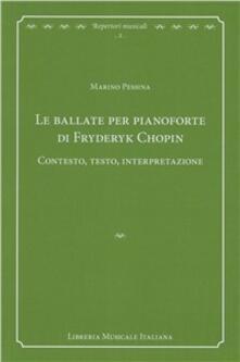 Tegliowinterrun.it Le ballate per pianoforte di Fryderyk Chopin. Contesto, testo, interpretazione Image