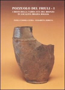 Pozzuolo del Friuli. Vol. 1: I resti della tarda età del bronzo in località Braida Roggia.