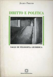 Diritto e politica. Saggi di filosofia giuridica