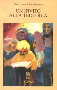 Invito alla teologia. Vol. 1 - copertina