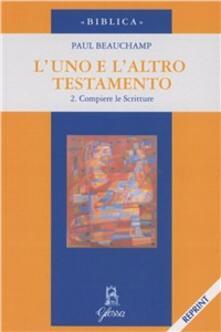 Festivalshakespeare.it L' uno e l'altro Testamento. Vol. 2: Compiere le Scritture. Image