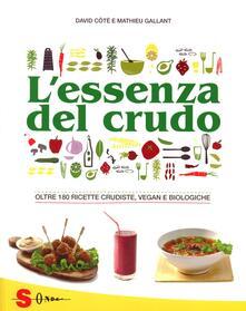 Voluntariadobaleares2014.es L' essenza del crudo. Oltre 180 ricette crudiste, vegan e biologiche Image