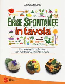 Warholgenova.it Erbe spontanee in tavola. Per una cucina selvatica, con ricette sane, naturali e locali Image