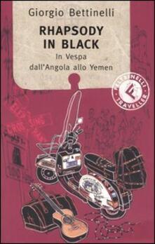 Warholgenova.it Rhapsody in black. In Vespa dall'Angola allo Yemen Image