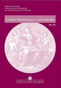 Codice deontologico commentato