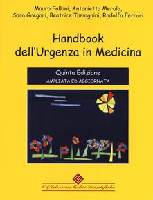 Listadelpopolo.it Handbook dell'urgenza in medicina. Ediz. ampliata Image