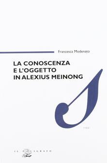 La conoscenza e loggetto in Alexius Meinong.pdf