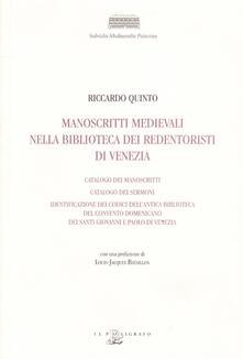 Vitalitart.it Manoscritti medievali nella Biblioteca dei Redentoristi a Venezia Image