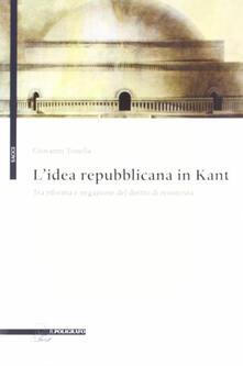 Squillogame.it L' idea repubblicana in Kant. Tra riforma e negazione del diritto di resistenza Image