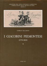 I I giacobini piemontesi (1794-1814) - Vaccarino Giorgio - wuz.it
