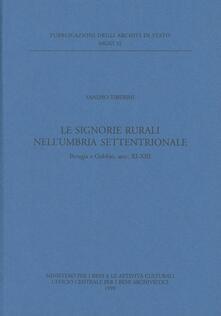 Le signorie rurali nellUmbria settentrionale. Perugia e Gubbio, secc. XI-XIII.pdf