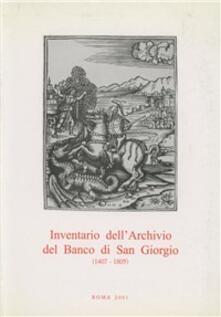 Inventario dellarchivio del Banco di San Giorgio (1407-1805). Vol. 2/1: Affari generali..pdf