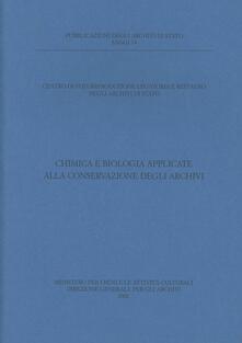 Secchiarapita.it Chimica e biologia applicate alla conservazione degli archivi Image
