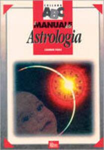 Libro Il manuale della astrologia Caumon Paoli