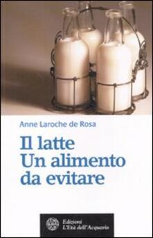 Antondemarirreguera.es Il latte. Un alimento da evitare Image