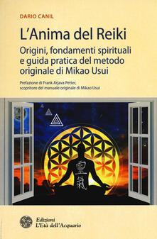 Antondemarirreguera.es L' anima del reiki. Origini, fondamenti spirituali e guida pratica del metodo originale di Mikao Usui Image