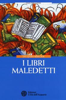 I libri maledetti - Jacques Bergier - copertina