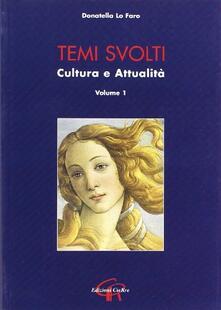 Premioquesti.it Temi svolti. Cultura e attualità. Vol. 1 Image
