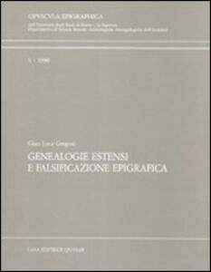 Genealogie estensi e falsificazione epigrafica
