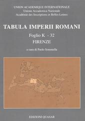 Tabula imperii romani. Foglio K-32, Firenze