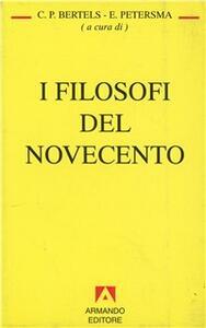 I filosofi del Novecento