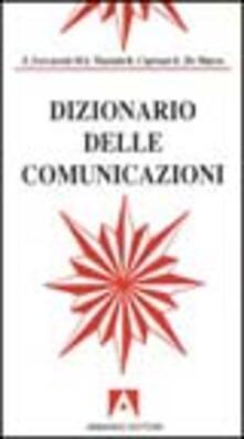 Dizionario delle comunicazioni - copertina