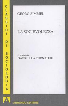 Letterarioprimopiano.it La socievolezza Image