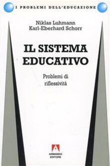 Vastese1902.it Il sistema educativo. Problemi di riflessività Image