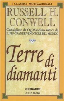 Terre di diamanti - Russell H. Conwell - copertina