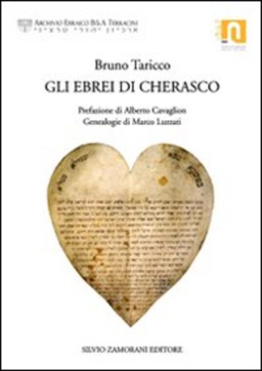 Gli ebrei di Cherasco - Bruno Taricco - copertina
