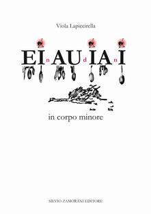 Einaudiani in corpo minore - Viola Lapiccirella - copertina