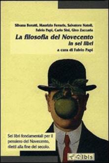 Nicocaradonna.it La filosofia del Novecento Image