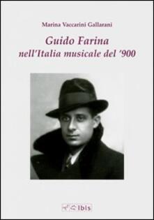Mercatinidinataletorino.it Guido Farina nell'Italia musicale del '900 Image
