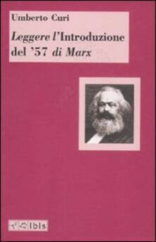 Secchiarapita.it Leggere l'«Introduzione del '57» di Marx Image