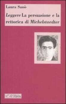 Equilibrifestival.it Leggere «La persuasione e la retorica» di Michelstaedter Image