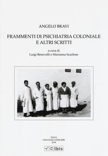 Laboratorioprovematerialilct.it Frammenti di psichiatria coloniale e altri scritti Image