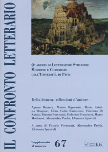 Grandtoureventi.it Il confronto letterario. Quaderni del Dipartimento di lingue e letterature straniere moderne dell'Università di Pavia. Vol. 67 Image